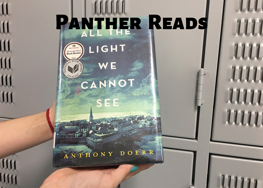 """In this segment of Panther Reads, Starr's Mill drama teacher Savahna Silvas discusses """"All the Light We Cannot See"""" by Anthony Doerr. This historical fiction novel is set in occupied France during World War II and follows the story of a young girl and boy who will do whatever it takes to keep the other safe."""