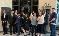 Speech and debate team working toward success