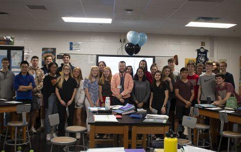 Physics teacher Nicholas Gillies named Teacher of the Year