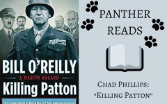 """This segment of """"Panther Reads"""" features Chad Phillips, head coach of Starr's Mill's football team. Phillips describes """"Killing Patton"""" by Bill O'Reilly and Martin Dugard as a novel focusing on uncovering the conspiracies surrounding World War II General George S. Patton Jr.'s death."""
