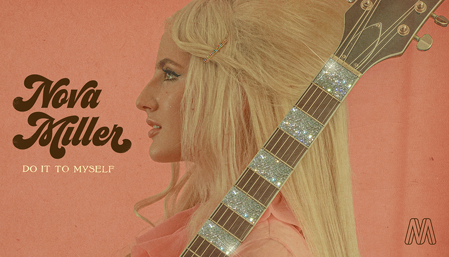 """Swedish pop singer Nova Miller released her new single """"Do It To Myself."""" Miller describes her sound as """"a guitar-driven retro bop."""" Her music and vocals are unique, sensational and bring a vintage, retro sound to pop music."""
