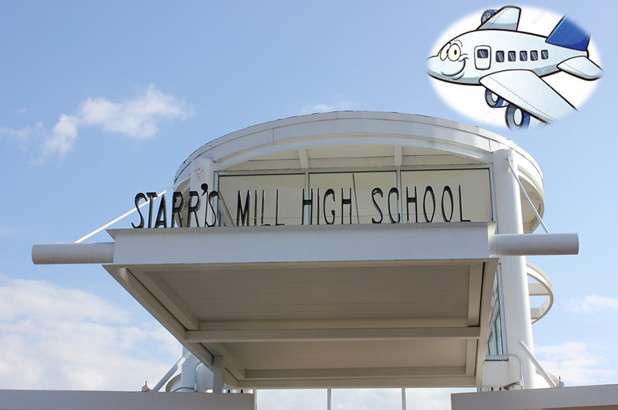 Starr%E2%80%99s+Mill+High+School+has+decided+to+expand+their+programs+and+pathways+in+the+future+into+the+aviation+career+path.+Rising+freshmen+and+sophomores+will+be+able+to+sign+up+for+aviation+and+aviation+mechanics+starting+with+registration+for+2020-2021+classes.