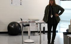 Dr. Bonnie Stanford teaches her 7th period Creative Writing class. Next year, she will be teaching the new AP Seminar course. There is no set textbook for this class, and it will be mostly based on student interest.