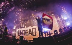 """On Feb. 14, nu-metal band Hollywood Undead released their sixth studio album titled """"New Empire, Vol. 1."""" Each of the nine tracks on the album tells a story, detailing the hardships of coming to terms with who you are. Lyrically, """"New Empire, Vol. 1"""" is tamer than the band's previous records, but the content still lives up to the edgy standard the band has gathered over time."""