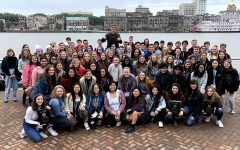 The Starr's Mill High School Beta Club recently attended the three-day Beta Convention in Savannah, Georgia. A group of more than 50 students attended the daily competitions and earned several awards.
