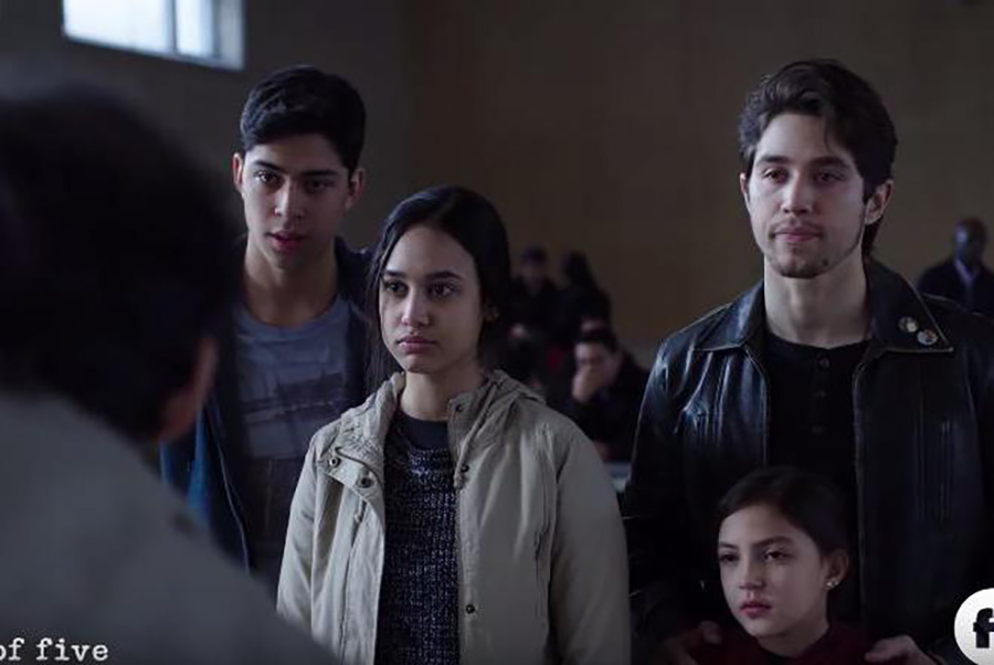 "The Acosta children talk to their parents right before they are deported back to Mexico. The reboot to the late 1990s series ""Party of Five"" premiered on Jan. 8. The show has been updated to keep with the current problems that some people in America face today while still staying in touch with the style of the classic."