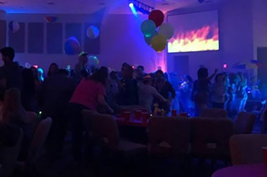 Scene from last year's Jesus Prom.  This year's theme is Giddy Up, a Western approach to the evening. Jesus Prom this year takes place from 5 to 9 p.m. on March 20. Those interested in volunteering to help must attend the meeting at 3 p.m. on March 15 at Heritage Christian Church.