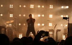 """Nine Inch Nails frontman Trent Reznor performs during a concert in May 2009. Concerts are a way of bringing fans together. With the outbreak of COVID-19, however, all concerts and other large social gatherings have come to a halt. On March 27, Nine Inch Nails released two albums back to back titled """"Ghosts V: Together"""" and """"Ghosts VI: Locusts."""" The ambient albums show the different ways society can react to the current global pandemic."""