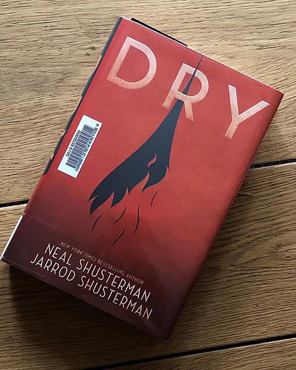 """The book """"Dry"""" follows two siblings as they navigate through an intense drought in California that is declared as a national emergency. Despite being released in 2018, the novel is a great reminder of hope as the world works together during the current COVID-19 pandemic."""