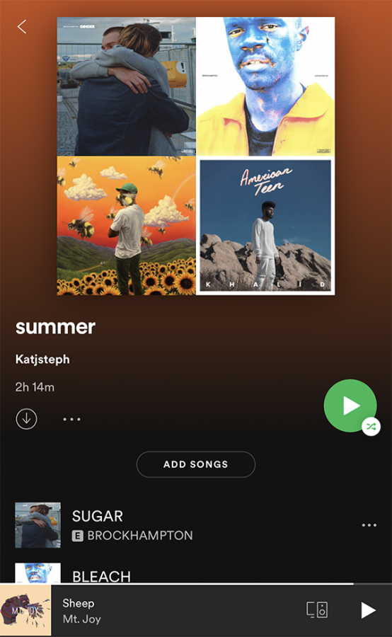 Summer songs post-quarantine