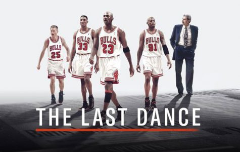 "Promotional image for ""The Last Dance,"" featuring Steve Kerr, Scottie Pippen, Michael Jordan, Dennis Rodman, and Phil Jackson (left to right). ESPN's latest documentary series, ""The Last Dance,"" features the story of the 1997-98 Chicago Bulls team and provides a look into all the things that made the finale for the Bulls' dynasty so special. The series stands as an incredible sports story that deserved to be told."