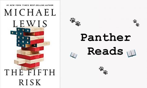 """The Fifth Risk"" by Micheal Lewis examines governmental agencies and their transitions to Donald Trump's presidency. Specifically, the author highlights the Department of Commerce, Department of Agriculture, and the Department of Energy."