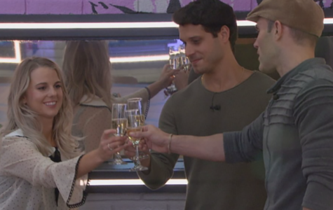 """Cody Calafiore (middle) celebrates making it to the final three with fellow houseguests Nicole Franzel and Enzo Palumbo in season 22 of the CBS reality TV show """"Big Brother."""" """"Big Brother: All-Stars"""" came to its conclusion last night. Calafiore dominated the game and it all paid off when he won the $500,000 grand prize by a 9-0 vote over Palumbo. Whether it be socially or strategically effective or being a competition beast, Calafiore played every aspect of the Big Brother game flawlessly, and earned the victory after losing in the first round six years ago."""