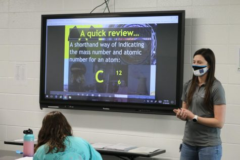 Chemistry and forensic science teacher Jessica Tatum encourages her students to observe the world around them and ask questions about it.