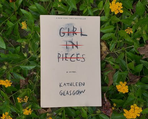 """Girl in Pieces"" by Kathleen Glasgow is a mental-health oriented novel depicting a teen struggling with self-harm and depression. A roller coaster of a plot, this book is recommended to anyone who loves a raw story."
