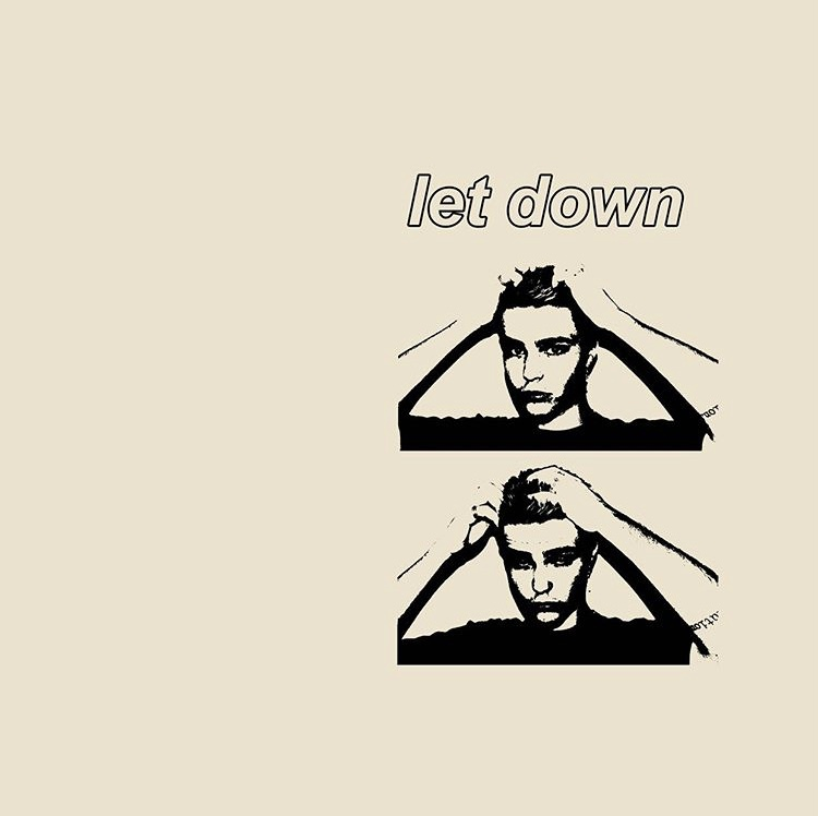 """The album cover for Autumn Boy's debut single. """"Let Down"""" was released near the end of September and carries a grungy vibe."""