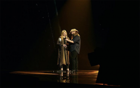 """Chris Stapleton performs """"Starting Over"""" at the 2020 Country Music Awards. The title track is featured on his latest album, the first he has released in three years."""