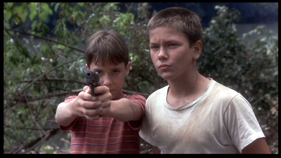 """Photo still from the movie """"Stand by Me."""" """"Stand by Me"""" was one of the biggest pivotal movies of the '80s, along with """"The Breakfast Club,"""" """"Beetlejuice,"""" """"The Terminator,"""" and more."""
