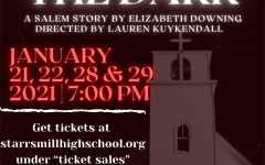 """The Starr's Mill drama department will take the stage with their competitive one act play titled """"A Voice in the Dark"""" on Jan. 21, 22, 28, and 29 at 7 p.m. in the Willie Duke Auditorium."""