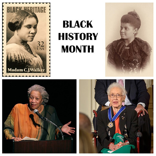 February is Black History Month. Here are four distinguished women who helped paved the road for other women (and men) to accomplish their own dreams.