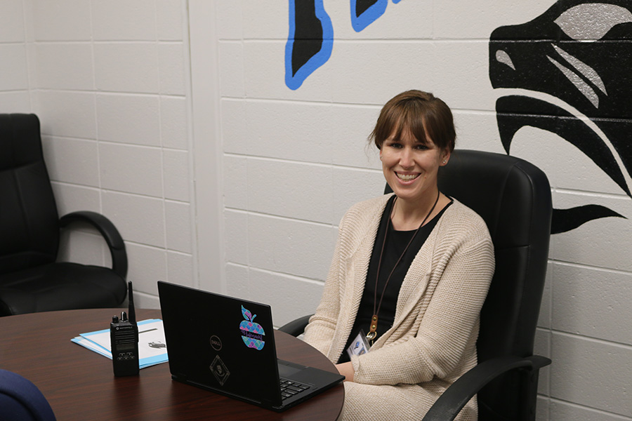 Christina Rufenacht is currently participating the Fayette County administrative internship program, but she's not new to the school. Graduating in 2004, Rufenacht wanted to be a teacher or administrator in Fayette County. Last year, she earned the Fayette County Teacher of the Year award.