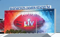 Raymond James Stadium in Tampa Bay, Florida, decorated for Super Bowl LV. The Kansas City Chiefs and the Tampa Bay Buccaneers will compete for the title of Super Bowl Champion. The reigning champion Chiefs have an extraordinarily great offense that has helped them dominate opponents. On the other hand, the Buccaneers have formed their own identity with several pieces that have made them an immense threat. Find out who wins Super Bowl LV as the big game commences at 6:30 p.m. on Feb. 7.