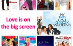 Navigation to Story: Love is on the big screen