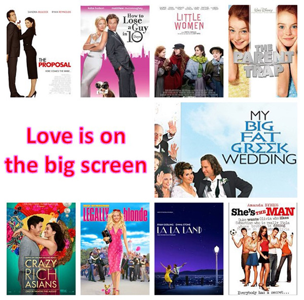 Regardless of your relationship status this Valentine's Day, here are nine of my favorite romantic comedies that all hearts can enjoy. To make them even better, I suggest a massive bowl of buttered popcorn.