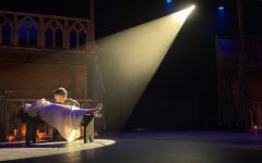 """Esmeralda (Aleena Soto) has just died and Quasimodo (Patrick Lacey) grieves for her. This scene was much needed because it showed how much Quasimodo cared for Esmeralda and how much he learned from her. """"The Hunchback of Norte Dame"""" follows a disfigured young man named Quasimodo as he falls for the beautiful and enchanting Esmeralda."""
