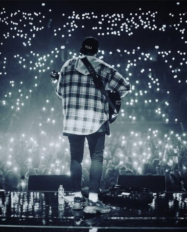 "James Arthur performs in Dublin, Ireland, on March 3, 2020. Arthur began his career in 2012 when he won ""The X-factor."""