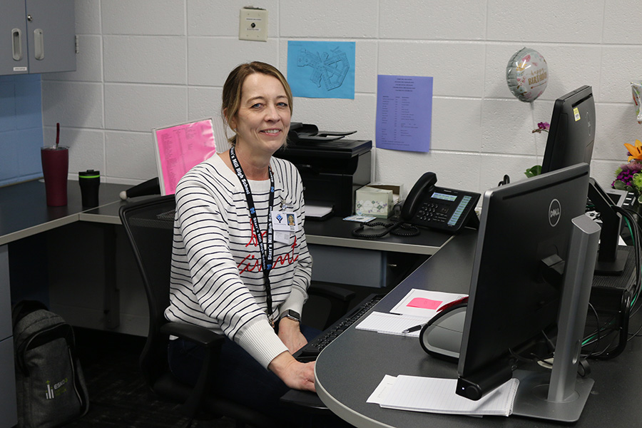 Bettina Zeeb has joined the Starr's Mill family as a new member in the attendance office. Throughout her daughter's scholastic career, Zeeb volunteered and was actively involved in the school environment.