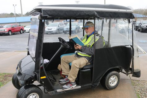 """Parking lot attendant Fred Harrington has long enjoyed """"Rickenbacker: An Autobiography."""" Harrington enjoys this book as his father was personally acquainted with the author, an ace pilot during World War I."""