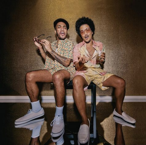 "Bruno Mars and Anderson .Paak created their own song together called ""Leave The Door Open."" It is up-beat and funky, making it perfect for summer-like vibes. The song comes after a five-year hiatus for Mars."