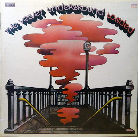 """Album cover for """"Rock & Roll"""" by The Velvet Underground. Highlighting the impact of rock and roll music on people and musicians in the '60s, """"Rock & Roll""""'s fuzzy vocals and blurry guitar contribute to The Velvet Underground's classic sound as well as the summer vibe of the song."""