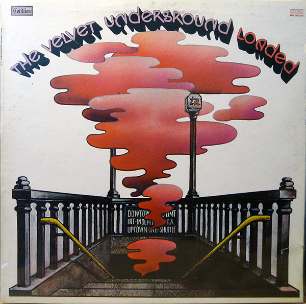 "Album cover for ""Rock & Roll"" by The Velvet Underground. Highlighting the impact of rock and roll music on people and musicians in the '60s, ""Rock & Roll""'s fuzzy vocals and blurry guitar contribute to The Velvet Underground's classic sound as well as the summer vibe of the song."