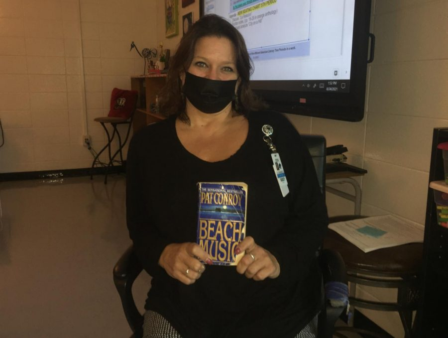 """English teacher Tara Burnette is re-reading """"Beach Music'' by Pat Conroy. The book follows a father character and his journey through his past."""