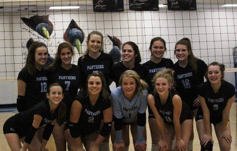JV volleyball wrapped up the season with a 12-13 record. Throughout the season, the Lady Panthers improved in hitting and serving, as well as working together.