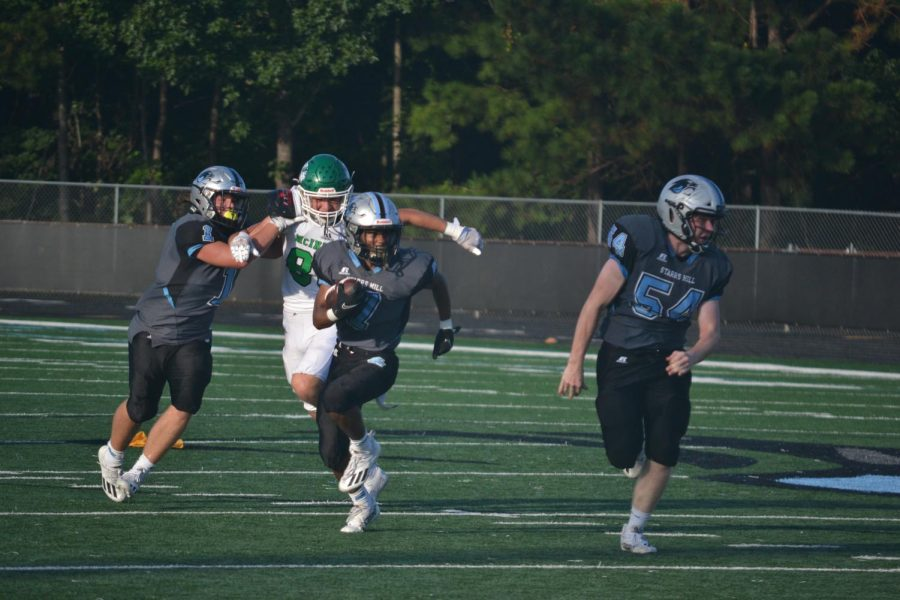 JV football shuts down Chiefs in 41-8 victory